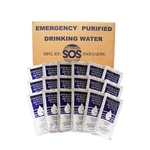 SOS Emergency Drinking Water - Case of 96