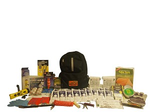 Deluxe Emergency Backpack - 1 person - Grab and Go 72 Hour Emergency Kit