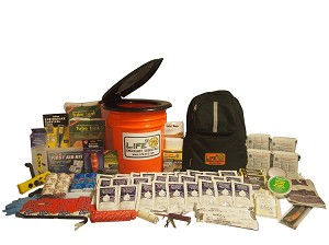 Deluxe Emergency Honey Bucket - 3 Person - Grab and Go 72 Hour Emergency Kit