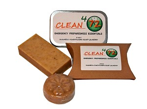Clean472 4-in-1 Soap in Travel Tin (70g)