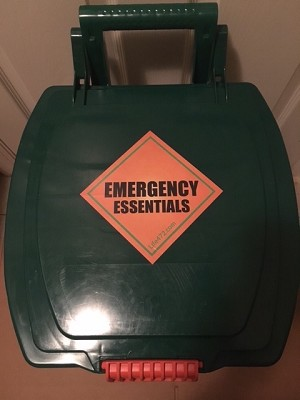 Wheeled Office Emergency Kit  - 10 Person - 72 Hours