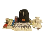 Basic Emergency Backpack - 4 Person - Grab and Go 72 Hour Emergency Kit