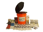Basic Emergency Honey Bucket - 2 Person - Grab and Go 72 Hour Emergency Kit