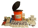 Basic Emergency Honey Bucket - 4 Person - Grab and Go 72 Hour Emergency Kit
