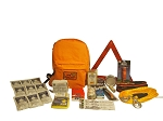 Basic Vehicle Emergency Kit - Grab and Go 72 Hour Emergency Kit