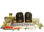 Deluxe Emergency Backpack - 4 Person - Grab and Go 72 Hour Emergency Kit