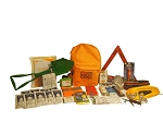 Deluxe Vehicle Emergency Kit - Grab and Go 72 Hour Emergency Kit
