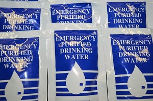 9 x 125 ml foil packs Emergency Drinking Water